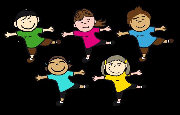 Znalezione obrazy dla zapytania aerobik obrazek dzieci